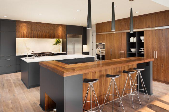 Beautiful Kitchen Interior  in Luxury Home